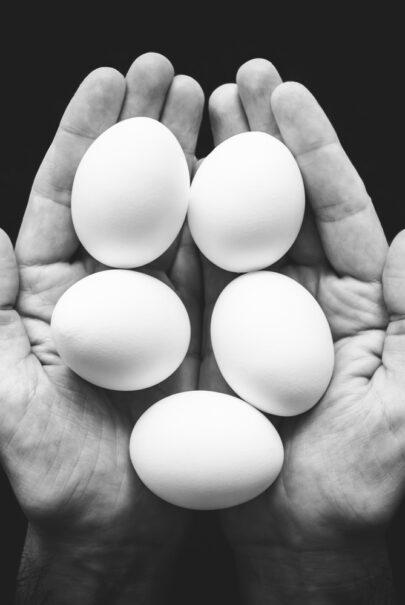 jaja są niezbędne w diecie treningowej